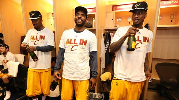 CGBSoU8UMAApnYP Lebron James & The Cavs Sweep The Atlanta Hawks In The Eastern Conference Finals; Advance To The NBA Finals (Video)