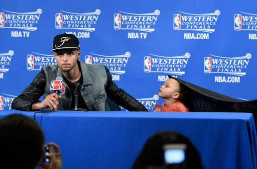 """Riley Curry Celebrates Her Dad's Victory & Raps Big Sean's Blessed"""" (Video)"""