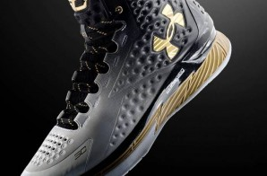 "Stephen Curry's Under Armour Curry One ""MVP"" (Photos)"