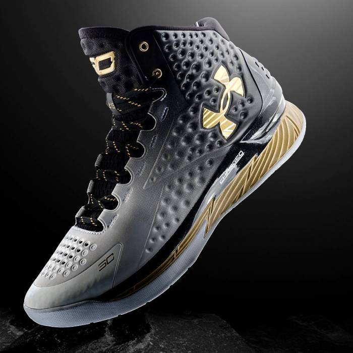 "Curry-One-MVP Stephen Curry's Under Armour Curry One ""MVP"" (Photos)"