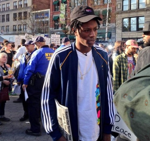 Joey_Badass_Pro_Era-500x470 Joey Bada$$ & Pro Era Join Freddie Gray Protests In NYC