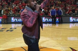 Kanye West Performs At Chicago Bulls Vs Cleveland Cavaliers Game (Video)