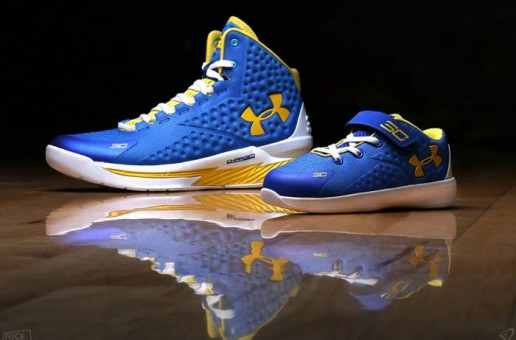 "Daddy's Little Girl: Under Armour Creates The Riley Curry ""Curry One"" PE Sneaker (Photos)"