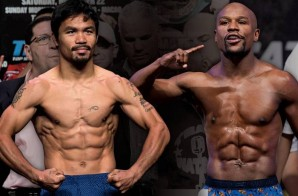 Mayweather vs Pacquiao Weigh-In (Live Stream) (Video)