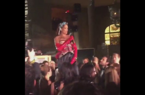 "Rihanna Performs ""BBHMM"" At The 2015 Met Gala (Video)"