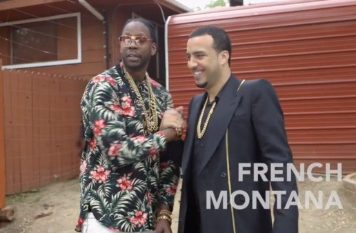 Most Expensivest: 2 Chainz & French Montana Feed $40K Giraffe (Video)