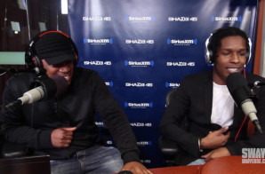 A$AP Rocky Freestyles On Sway In The Morning And Throws Shots At 50 Cent! (Video)
