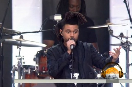 The Weeknd Performs On The Today Show (Video)