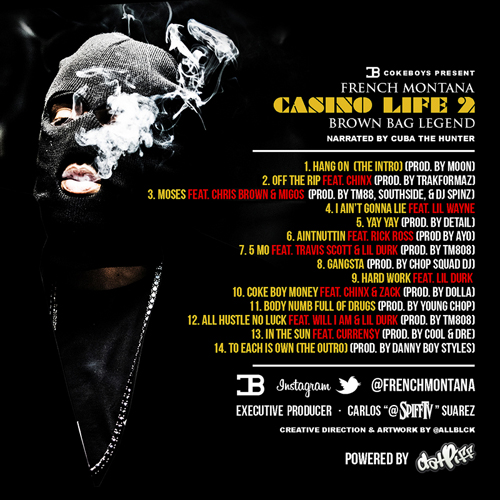 french-montana-casino-life-2-back French Montana - Casino Life 2: Brown Bag Legend (Mixtape)