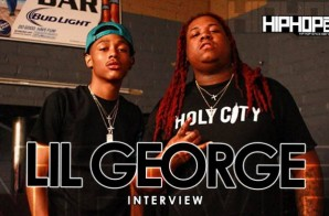 """Lil George Talks His Single """"Sauce"""", BMB Records, Detroit & More With HHS1987 (Video)"""