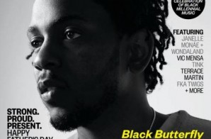 "Kendrick Lamar Appears On The Cover Of Ebony Mag (Photo) + New Record, ""Vegas"""