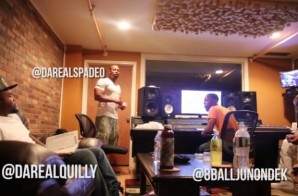 Quilly In-Studio Blog With Spade-O (Video)