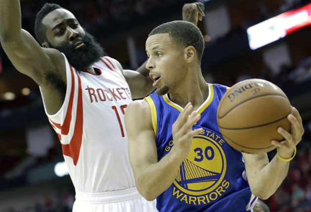 steph Ball Night: Golden State & Houston Kickoff The 2015 NBA Western Conference Finals At 9PM On ESPN