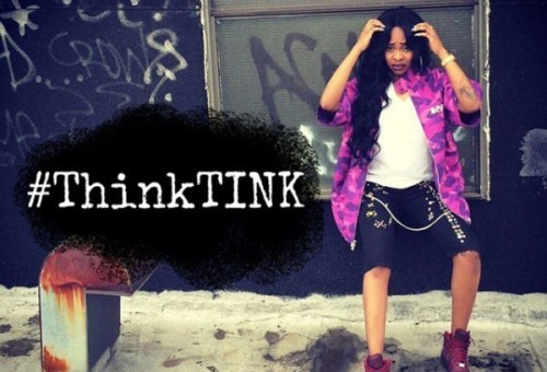 "Tink Unveils Official Artwork To Her Debut Album, ""#ThinkTINK"""