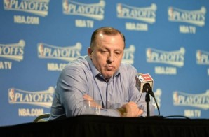 The Chicago Bulls Fire Head Coach Tom Thibodeau; Thibodeau Was (255-139) With The Bulls