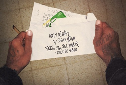 "Ty Dolla $ign To Debut New Song ""Only Right,"" This Week!"