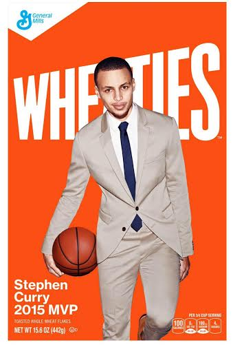 unnamed-61 MVP, MVP, MVP: Stephen Curry Set To Cover A Limited Edition Wheaties Box (Photos)