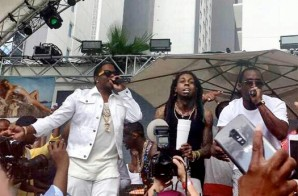 "Diddy, Lil Wayne & Ma$e Perform ""Mo Money Mo Problems"" In Las Vegas (Video)"