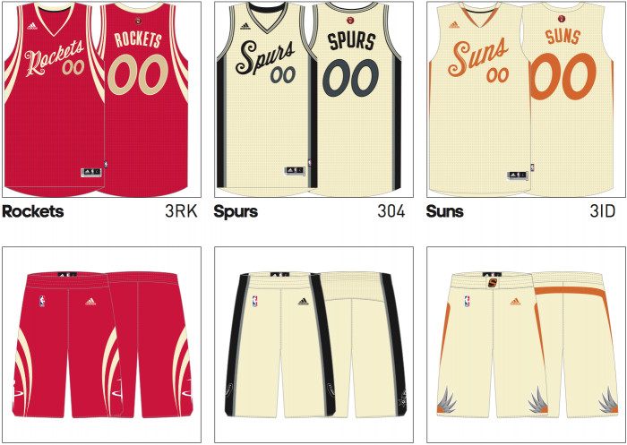 xmas9-1 2015 NBA Christmas Jerseys Have Hit The Net (Photos)