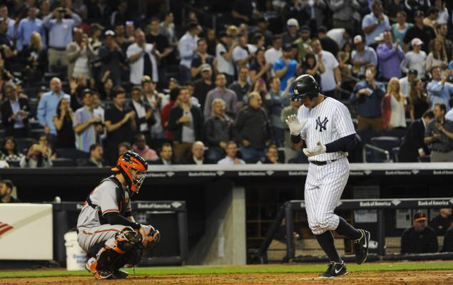 yanksweb8s-3-web Fair Or Foul?: Yankees Slugger Alex Rodriguez Passes Willie Mays With Home Run 661 (Video)