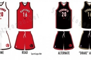 "The Toronto Raptors Release New Uniforms Including A ""Drake Alternate"" Jersey (Photo)"