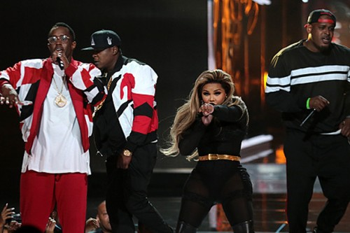 BET-Awards-Bad-Boy-Records-Reunion-500x333 Diddy And The Fam Come Together For A Bad Boy Reunion At The BET Awards! (Video)