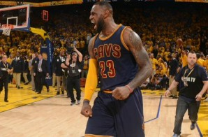 Headed Back To Cleveland, Lebron James' 5th Career Finals Triple-Double Ties The 2015 NBA Finals (1-1) (Video)
