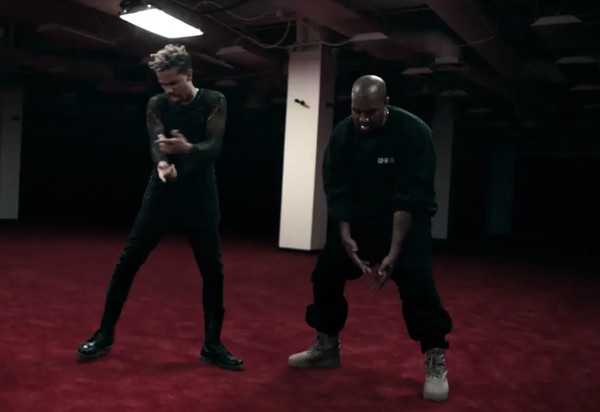 CHF4DqhWgAAHTiN-1 Vic Mensa x Kanye West - U Mad (Video)