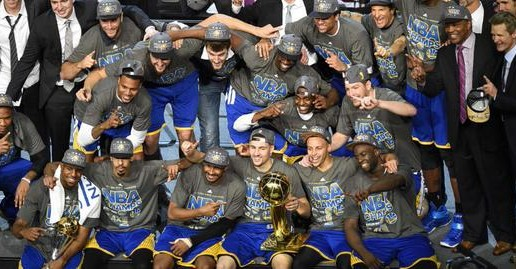 Splash Champs: The Golden State Warriors Win The 2015 NBA Finals (Video)