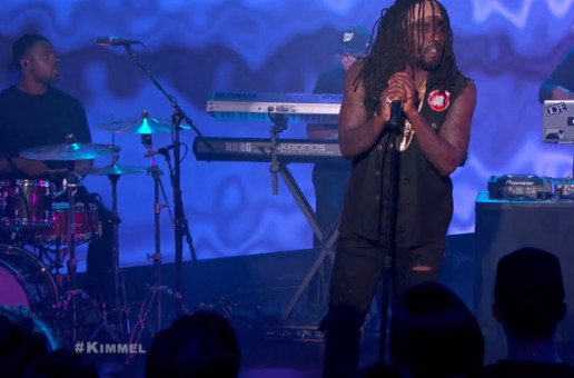 "Wale Performs ""The Matrimony"" & ""Girls On Drugs"" On 'Jimmy Kimmel Live!' (Video)"