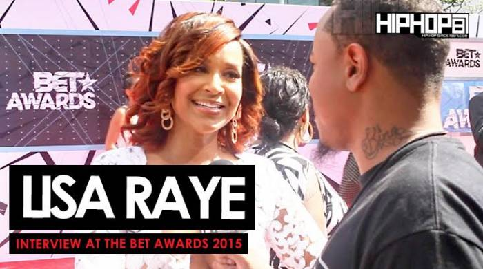 Lisa-Raye Lisa Raye Talks 'Single Ladies', Her Upcoming Film 'No More Mr. Nice Guy', Her Project 'Life Rocks' & More With HHS1987 On The BET Red Carpet (Video)