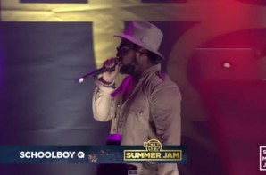 Kendrick Lamar Brings Out SchoolBoy Q At Summer Jam
