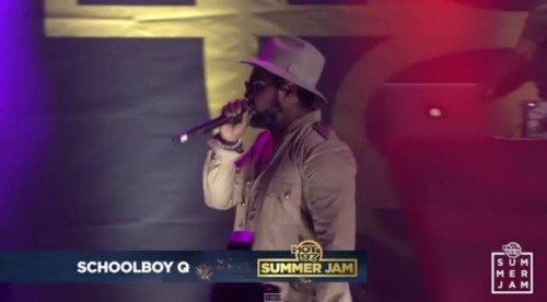 Schoolboyq-500x276 Kendrick Lamar Brings Out SchoolBoy Q At Summer Jam