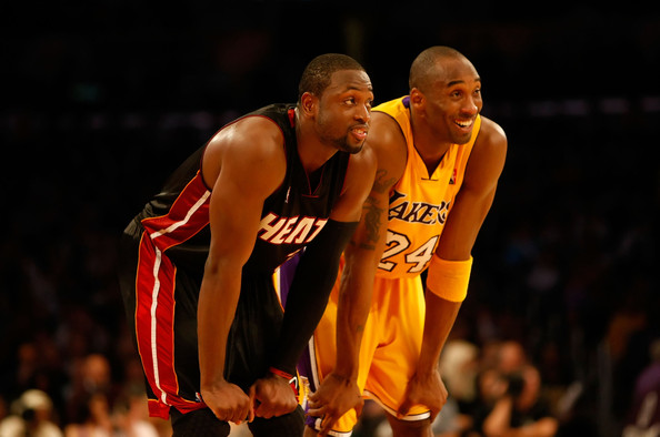 Wade-and-Bryant- California Love: Dwyane Wade & The Los Angeles Lakers Have Mutual Interest In Each Other