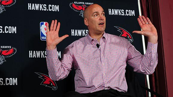 ferry Danny Ferry Steps Down As The Atlanta Hawks General Manger