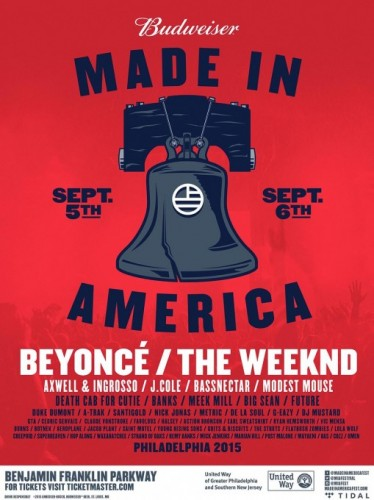 mia-festival-lineup-announced-509x680-374x500 Beyoncé And The Weeknd To Headline Made In America Music Festival!