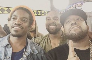 Kanye Heads To Waffle House With Outkast After Freestyling At Birthday Bash 20 (Video)