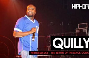 Quilly Performs Live at The Return of the Mack Concert (6/6/15) (Video)