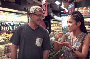 "No Pun Intended: MTV's Rob Markman Goes ""Grocery"" Shopping With Jhene Aiko (Video)"