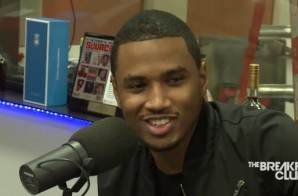 Trey Songz Talks SX Liquors, Touring W/ Chris Brown,Travi$ Scott,Charleston & More W/ The Breakfast Club (Video)