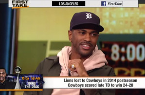 Big Sean Talks The 2015 NBA Finals, New Music, The Detroit Lions & More On ESPN's First Take (Video)