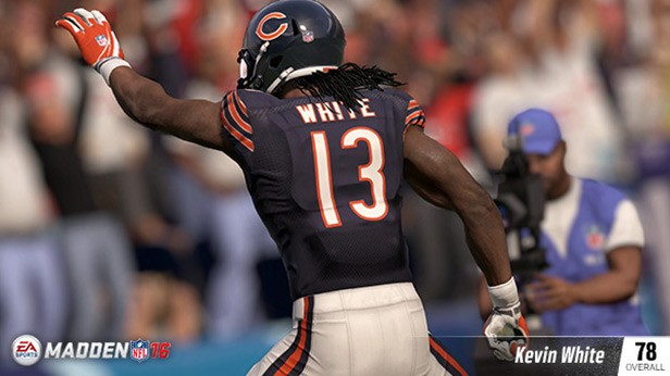 Kevin-White EA Sports Reveals The Madden NFL 16 Rookie Ratings; Former Georgia Bulldog Todd Gurley Leads The Pack