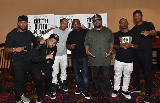 "Ice Cube, O'Shea Jackson Jr, F. Gary Gray & More Attend The VIP ""Straight Outta Compton"" Screening In Atlanta"