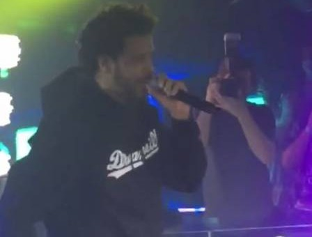 Heads Up: J. Cole Gets Hit By Cell Phone During Performance In San Diego! (Video)