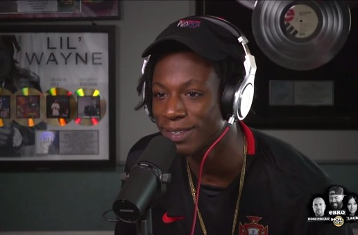 Joey Bada$$ Talks Back & Forth W/ Troy Ave On Twitter & Being Independent W/ Ebro In The Morning! (Video)
