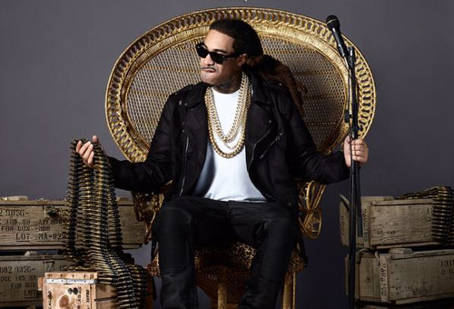 "Gunplay Releases ""Living Legend' Album Cover!"