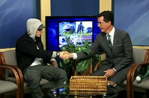 Stephen Colbert Interviews Eminem On Public-Access Show In Michigan