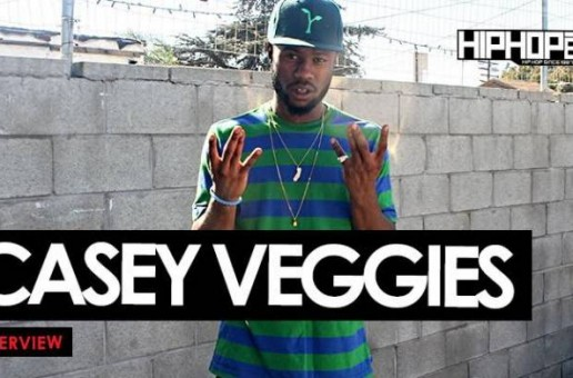 "Casey Veggies Talks His Upcoming Album 'Live & Grow', His Role In The Film 'DOPE', ""Peas & Carrots"" & More With HHS1987 (Video)"