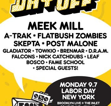 Fool's Gold Day Off Returns With Meek Mill, Earl Sweatshirt, Action Bronson, Rich Homie Quan, A-Trak & More!