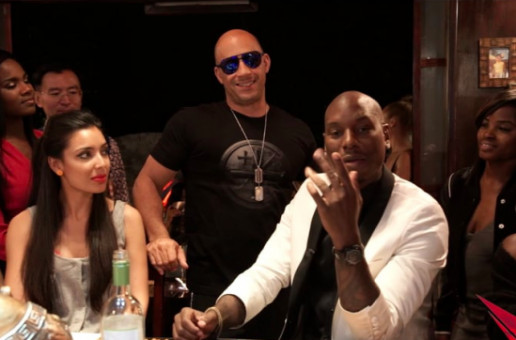 "Tyrese Takes Us Inside His Home For A Personal Listening Session Of His Latest Album ""Black Rose"" (Video)"